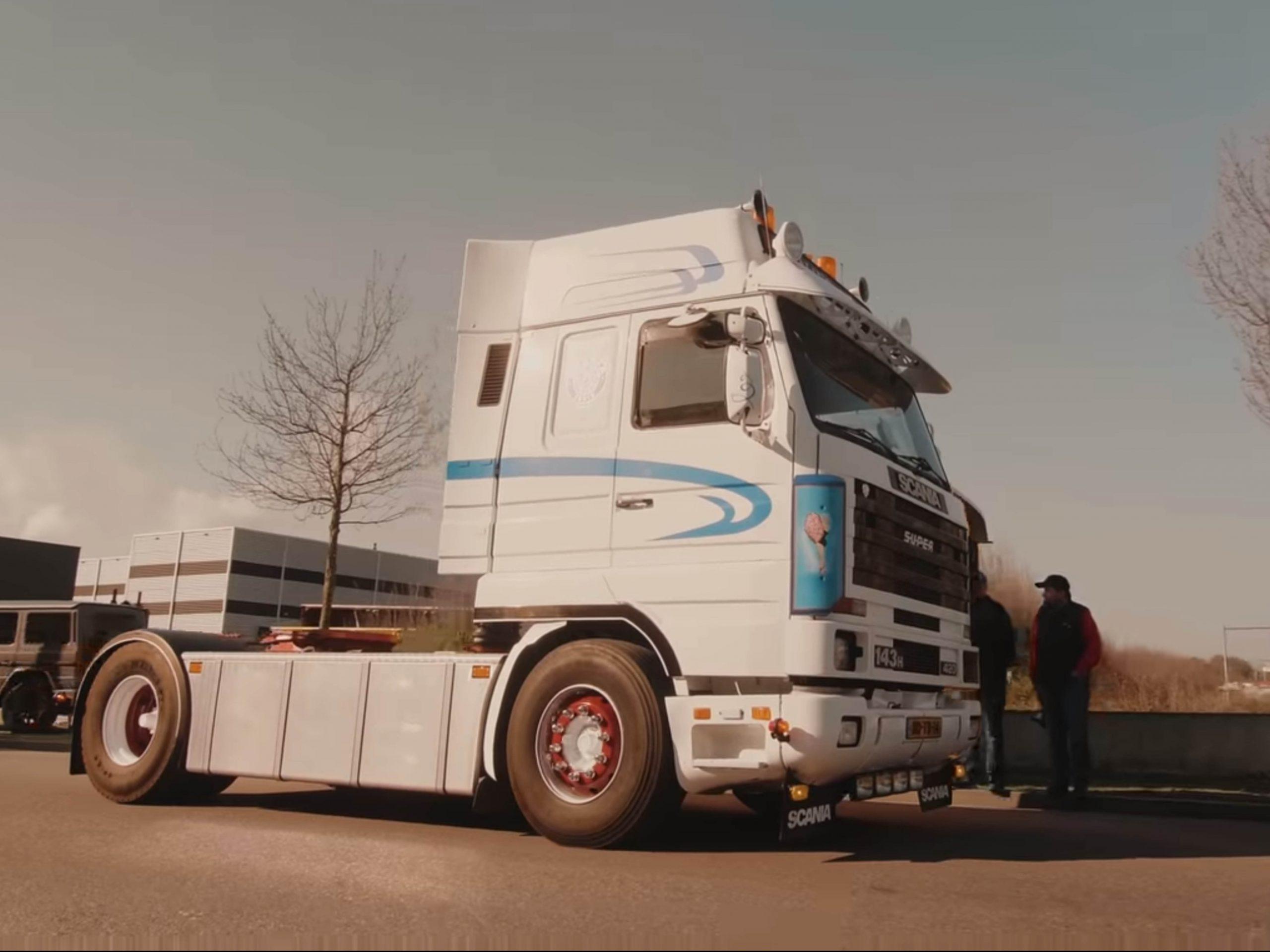 aftermovie laten maken transport sector vrachtwagens retro truck tour