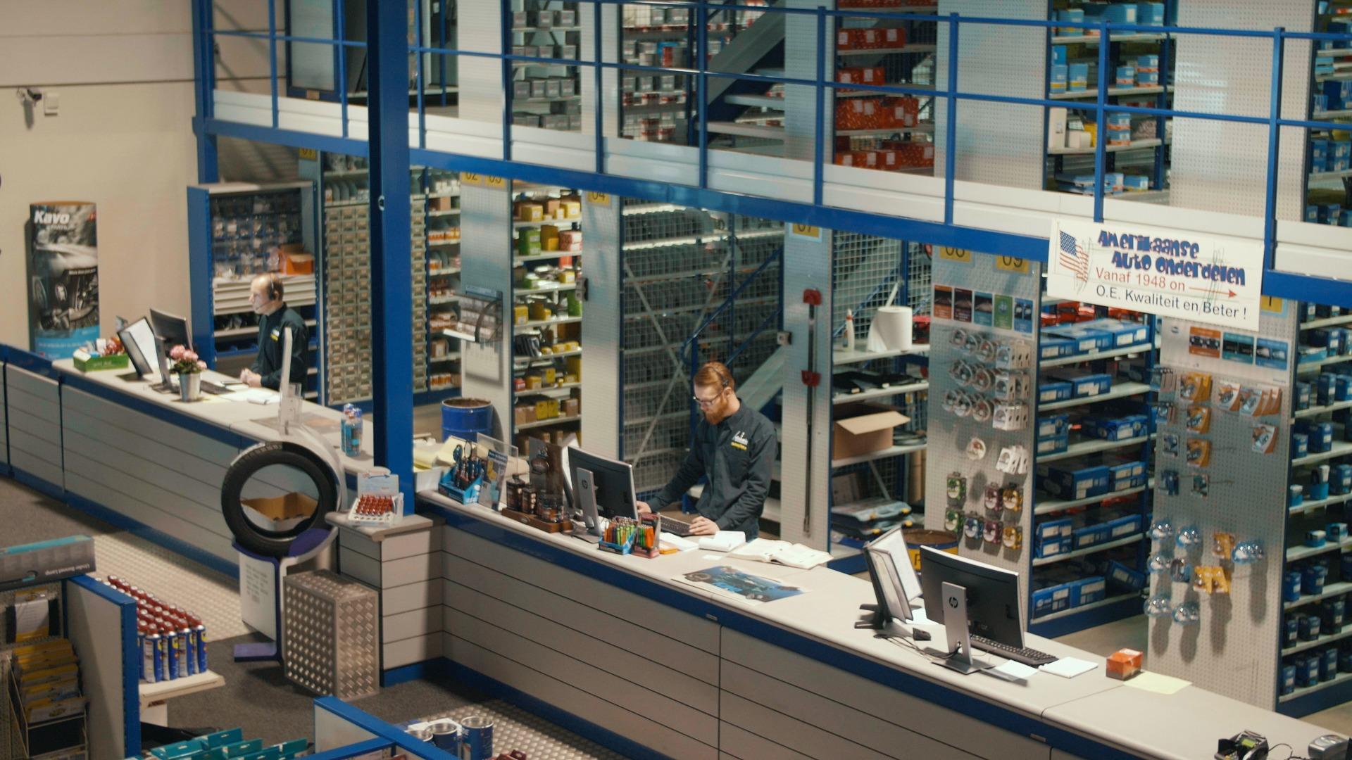 bedrijfsfilm laten maken dabeko magazijn video klantcontact
