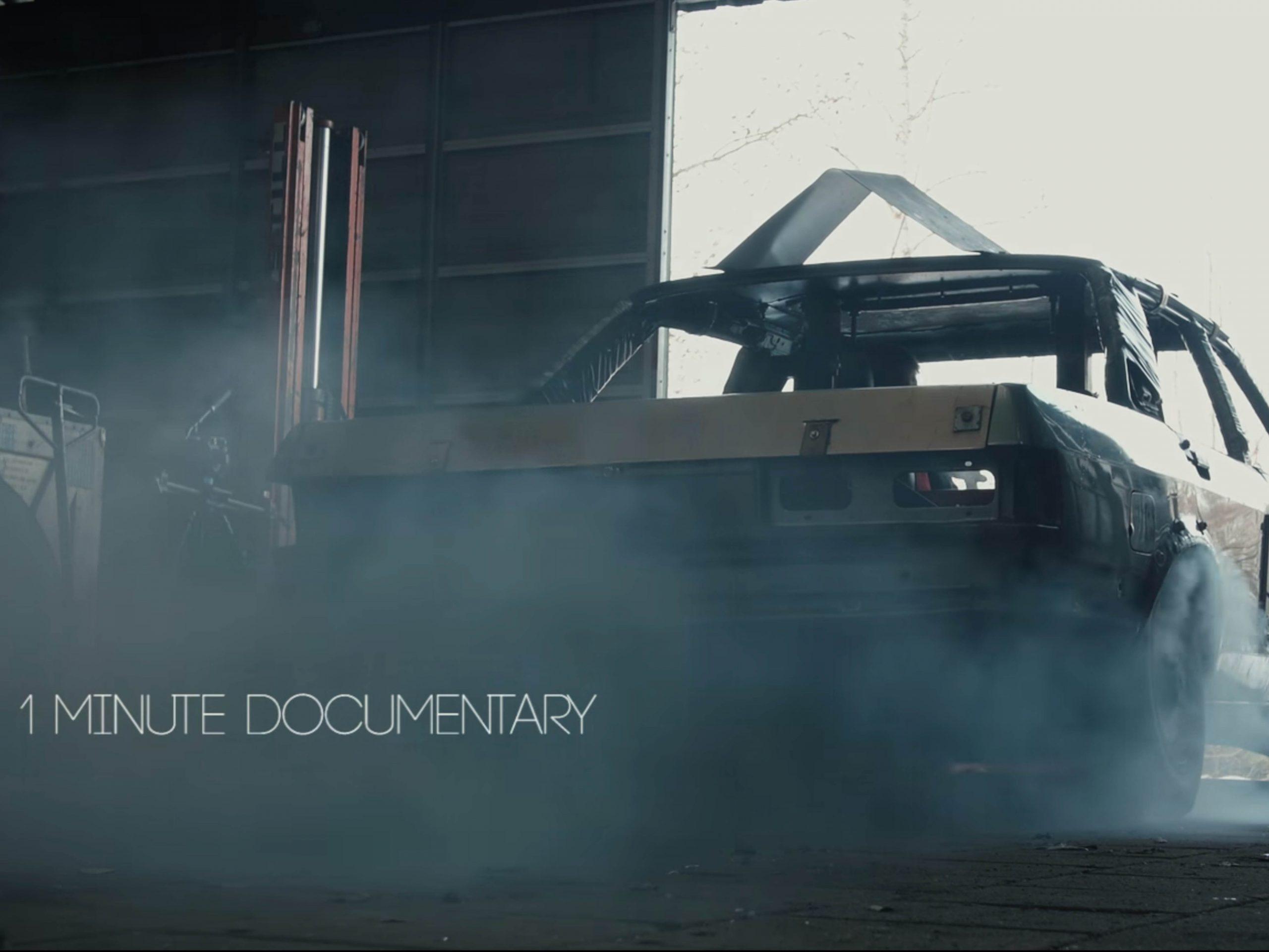documentaire 1 minuut banger racen