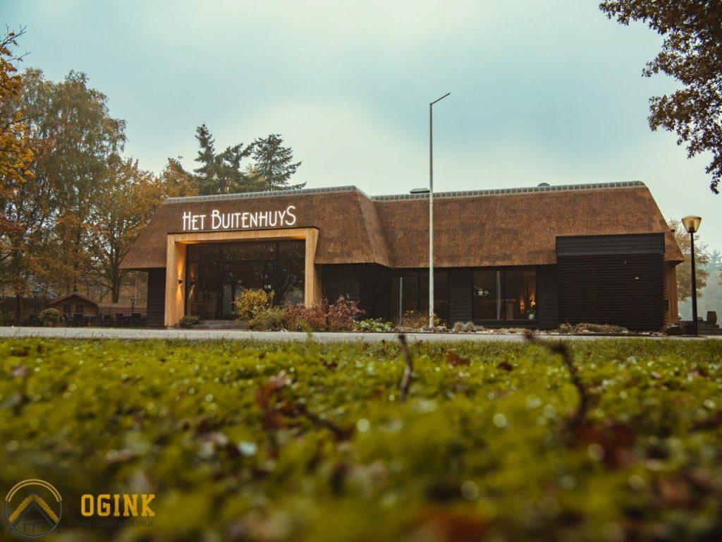 restaurant het buitenhuys fotoshoot renovatieproject