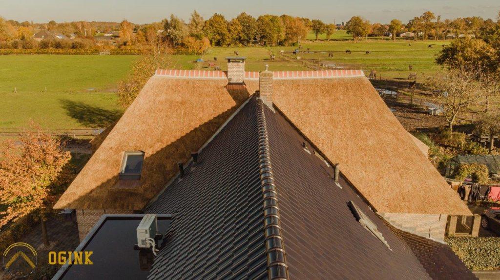 drone foto huis van boven