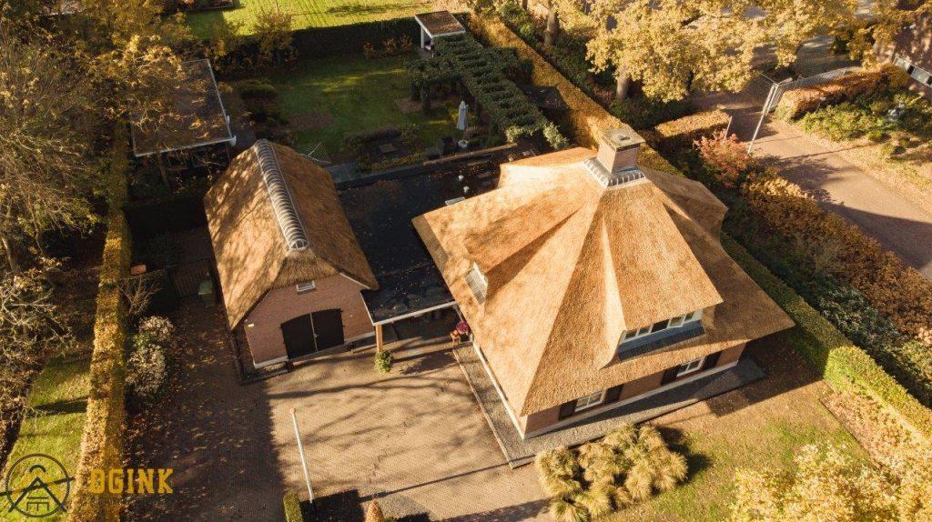 drone fotografie rieten dak raalte