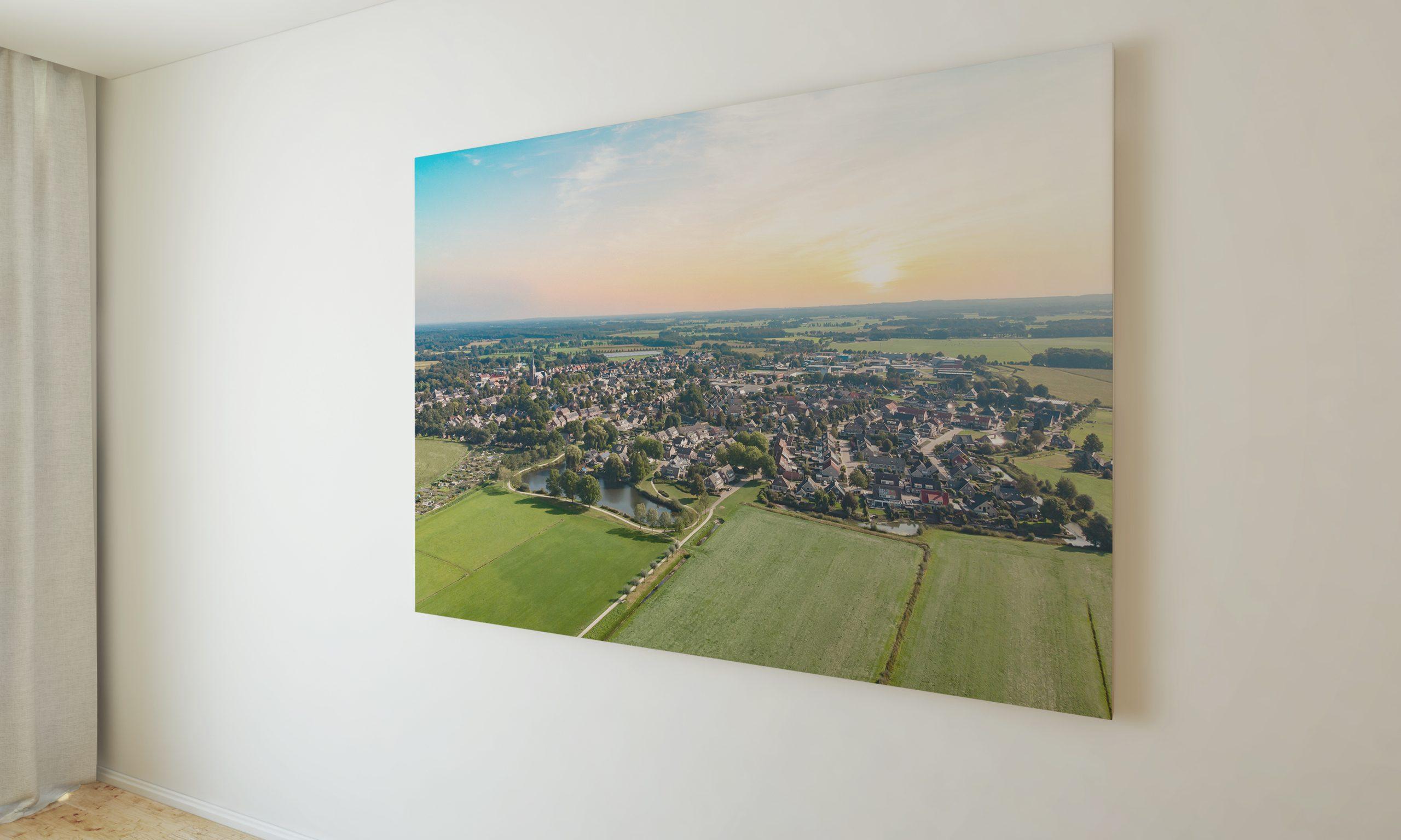 drone foto heeten dorp