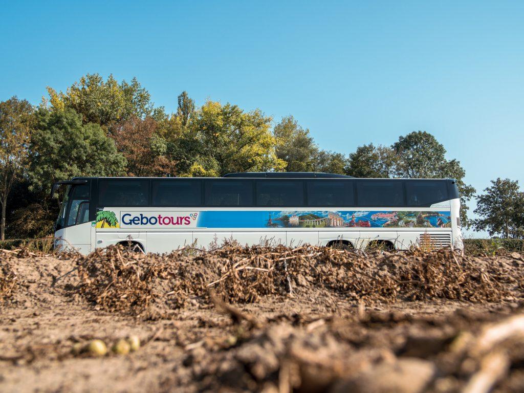 Touringcar fotografie gebotours aardappelveld